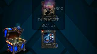 Vainglory Open Chest...Gwen new skin SE x2