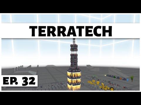 TerraTech - Ep. 32 - Building a Rocket! - Let's Play
