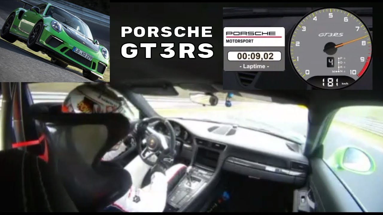 Driver View Porsche  Gt Rs Nurburgring Lap Record  Full Lap