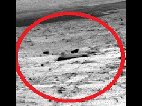 Crashed ancient alien spaceship found on Mars by curiosity ...
