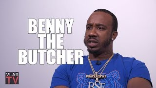 Benny the Butcher on His Older Brother Getting Killed, Mom on Drugs w/ 8 Kids (Part 2)