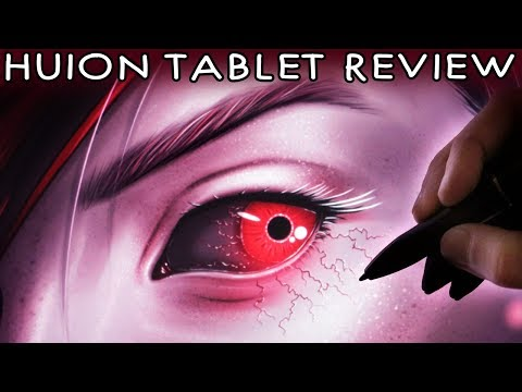 HUION KAMVAS GT-191 Tablet Review