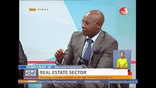 Username Investment CEO at KBC Channel 1 Discussing Real Estate in Kenya