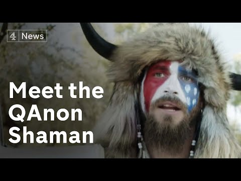 Historical - Meet the 'QAnon shaman' behind the horns at the Capitol insurrection