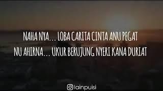Status wa bahasa Sunda