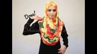 Shawls House Tutorial - Instant Shawl Simple Satin