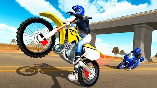 Moto Extreme 3D - Gameplay Android game - driving moto game