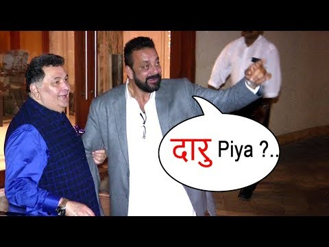 Thumbnail: Sanjay Dutt's FUNNY Moments With Reporters At Diwali Party 2017