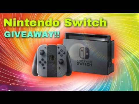 Nintendo Switch GIVEAWAY!! - 2000 subscriber special