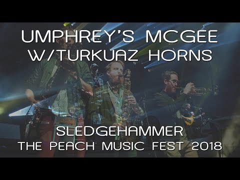 Umphrey's McGee w/Turkuaz Horns: Sledgehammer [4K] 2018-07-20 - The Peach Music Festival