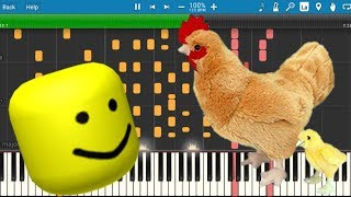 If I Had A Chicken But It's Roblox Death Sound!!!!