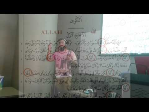 Islamic School of Irving presenting Islam to El Centro High School in Dallas, TX 2015