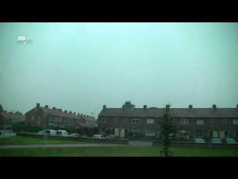 Onweer / noodweer / thunderstorm / shelfcloud / doetinchem / 27 juli 2013 / HD