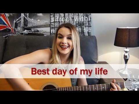 Best day of my life | American Authors | Carina Mennitto Cover