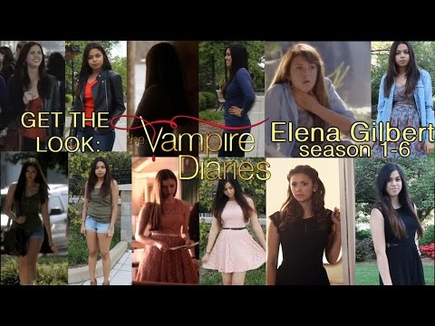 Get the Look: Elena Gilbert [Season 1-6 Outfits] #TVD #GoodbyeElena