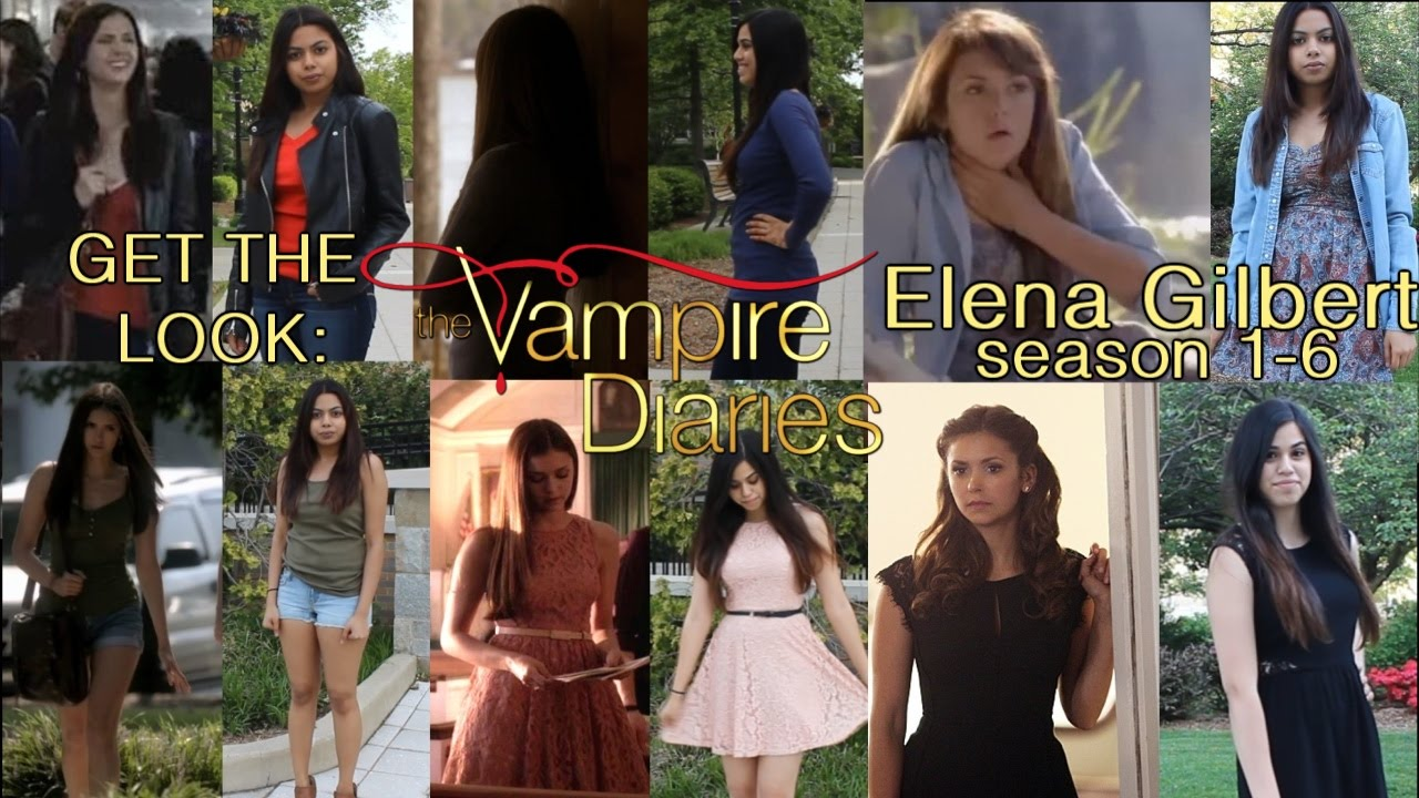 Get the Look: Elena Gilbert [Season 6-6 Outfits] #TVD #GoodbyeElena