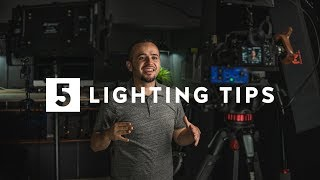 5 Lighting Tips to Improve Your Videos!