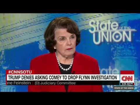 Feinstein I believe Comey over Trump