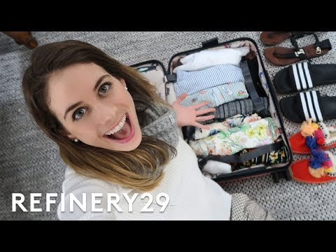 How I Packed For My Costa Rica Vacation   Lucie Fink Vlogs   Refinery29