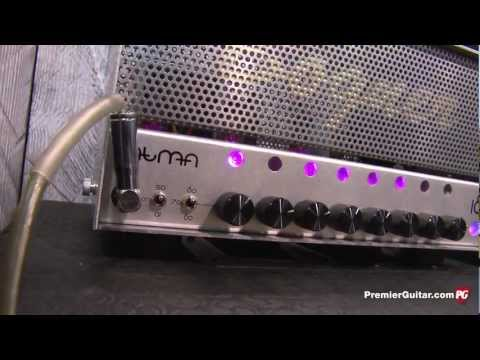 NAMM '13 - Bogner Amplification Atma Amp & Ecstasy Blue, Ecstasy Red, and Uberschall Pedal Demos
