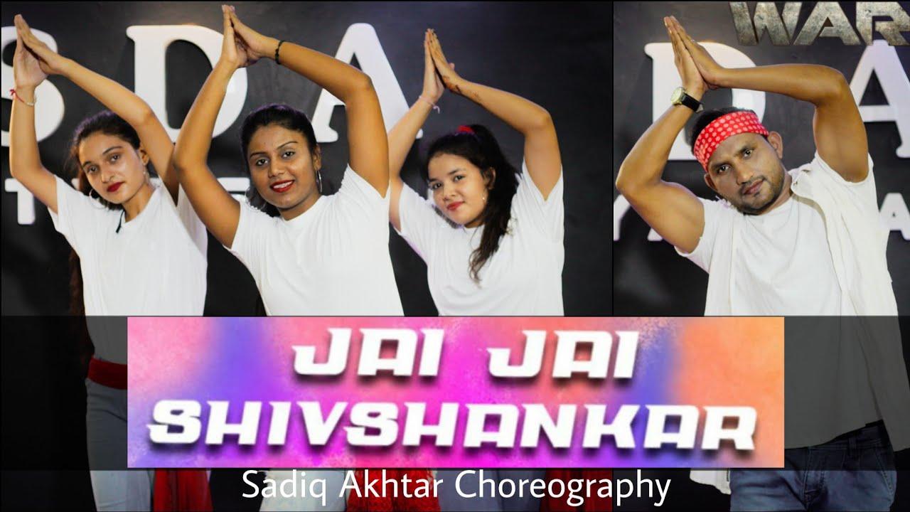 Jai Jai Shiv Shankar  Dance Cover  War Movie Song  Sadiq Akhtar Choreography  Hrithik Roshan