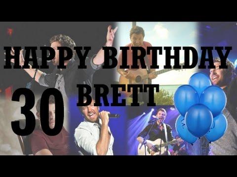 Happy 30th Birthday Brett Eldredge Fan Video Youtube