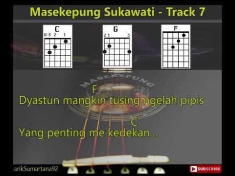Masekepung Sukawati - Track 7 [Lirik & Chord, Kunci Gitar]