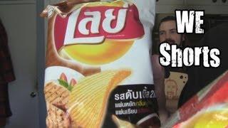 We Shorts - Lay's Pork Chop Bbq & Hot Spicy Crab