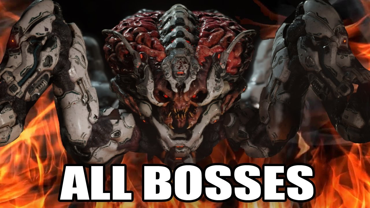 Download DOOM - All Bosses (With Cutscenes) HD