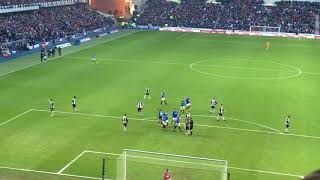 Rangers 4-0 St Mirren Player Walk Out, All Goals included