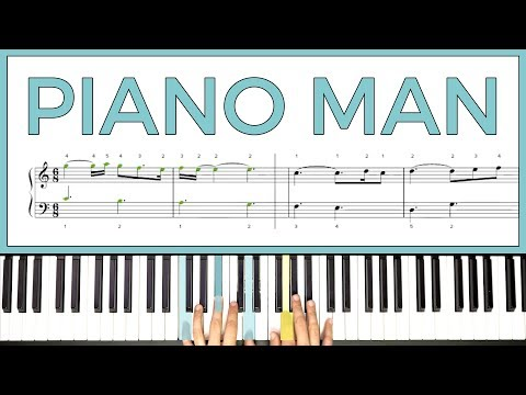How To Play 'PIANO MAN' By Billy Joel On The Piano -- Playground Sessions