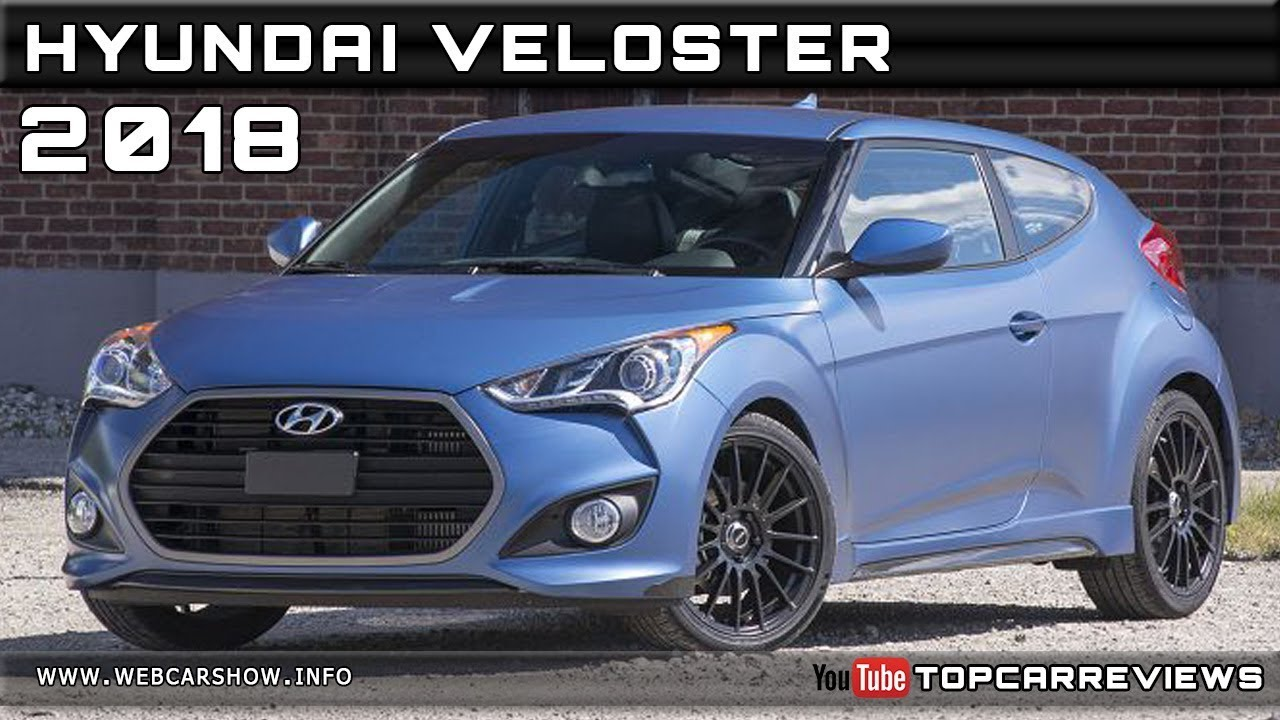 2018 Hyundai Veloster Review Rendered Price Specs Release Date Youtube