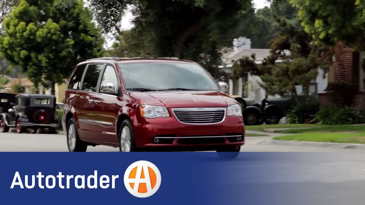 2013 chrysler town and country minivan new car review autotrader youtube. Black Bedroom Furniture Sets. Home Design Ideas