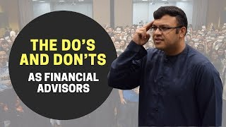 The Do's and Don'ts for Financial Planning | Dr. Sanjay Tolani