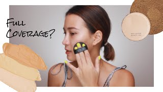 ROLLOVER REACTION TINTED MOISTURIZER COMPACT CUSHION FIRST IMPRESSION
