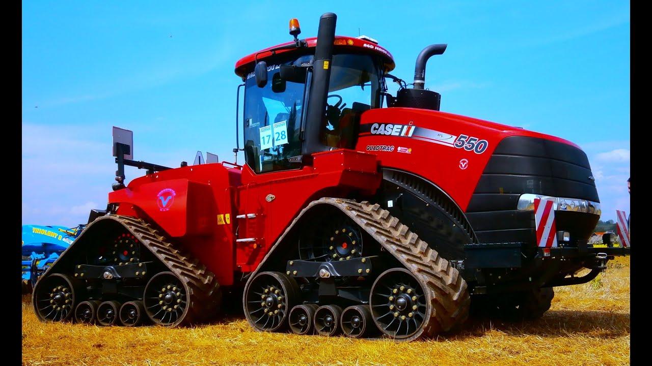 Case Tractor Mowers : Mega tractor case quadtrac hp in farmet