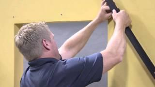 Wood Barn Door Track and Bracket Installation