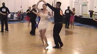 2015 Garden State Invitational Ballroom Dancing Competition Bachata Open Heat