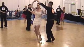 2015 Garden State Invitational Ballroom Dancing Competition Bachata Open Heat