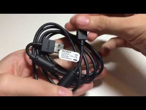 What Original Genuine Sony EC802 Micro USB Sync & Charge Data Cable for Xperia looks like?