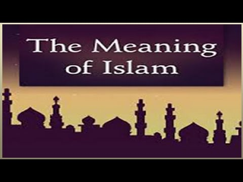 a paper on dr mamdouh mohameds internet audio lecture the meaning of islam Links to excerpts from introduction to islam by dr m hamidullah.