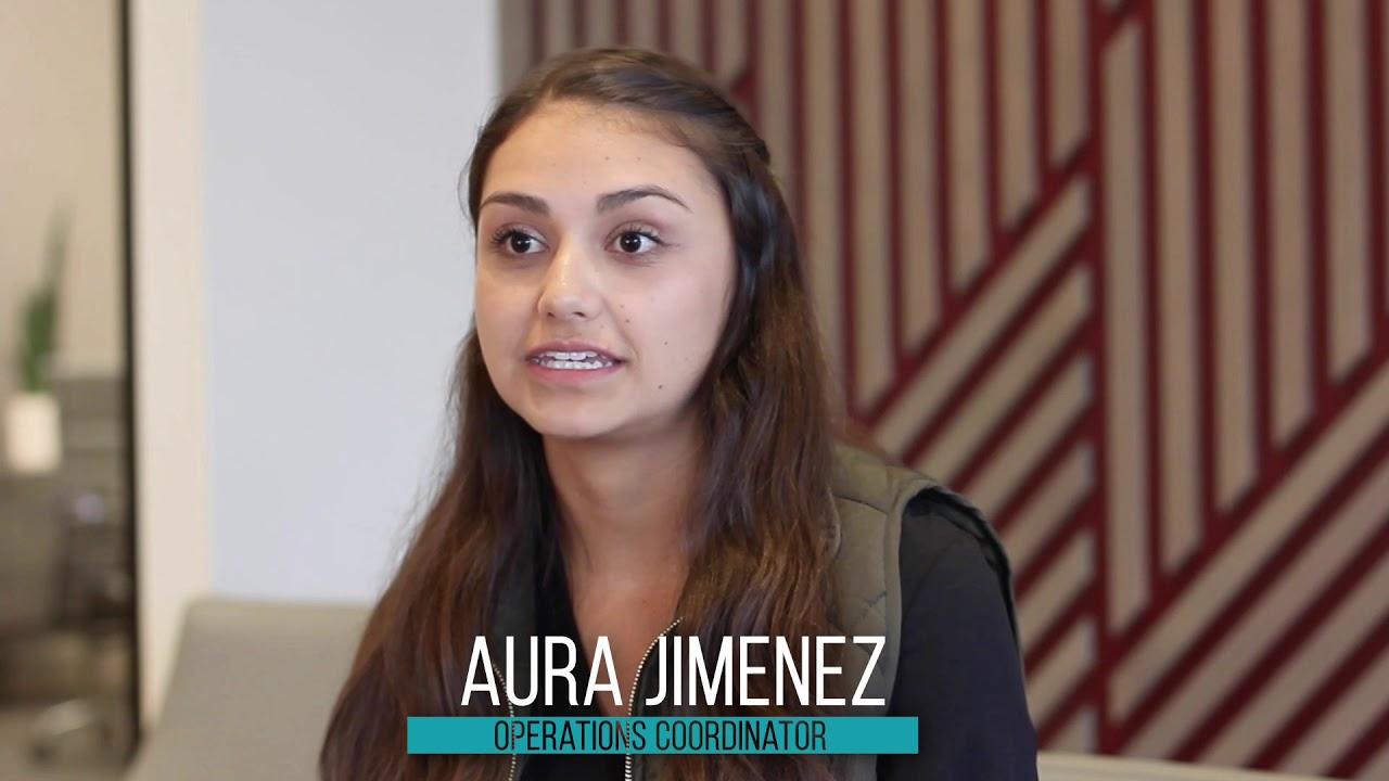 Customer Spotlight - Aura Jimenez, Operations Coordinator