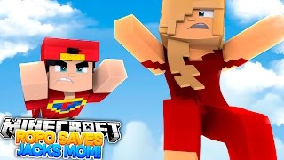 Minecraft Adventure - ROPO SAVES JACKS MOM!!