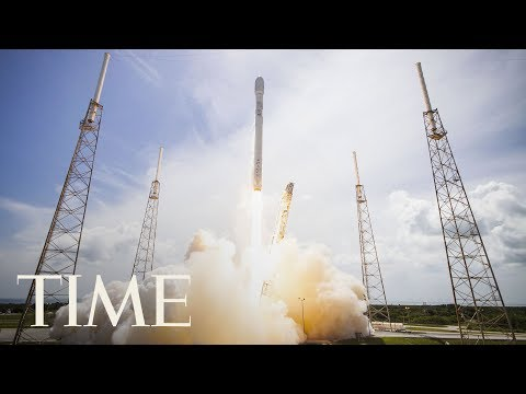 Watch SpaceX Test-Fire Its Massive Falcon Heavy Rocket For The First Time | TIME