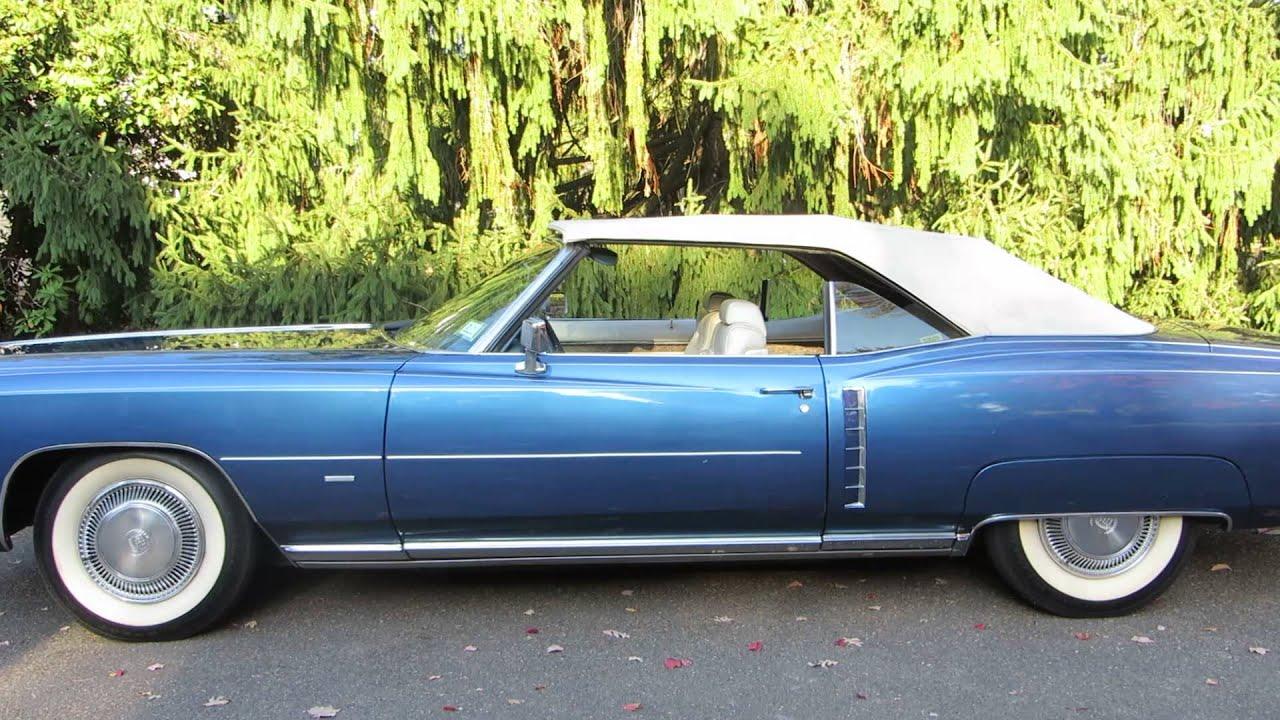 1971 Cadillac Eldorado Convertible Top and Windows - YouTube