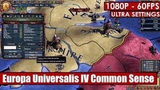 Europa Universalis IV Common Sense gameplay PC - HD [1080p/60fps]