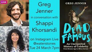 Greg Jenner Live Chat with Shappi Khorsandi