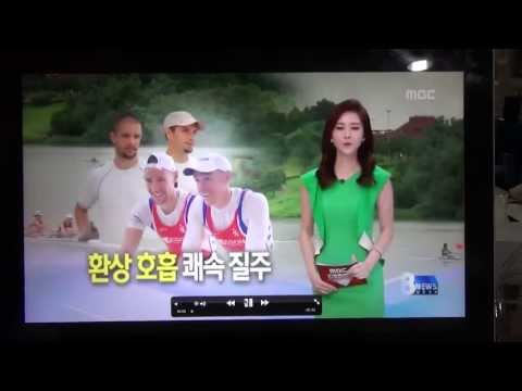 Muda twin on South Korean television program MDC