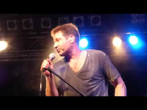 David Duchovny - I Can't Feel My Face (The Weeknd Cover) live Cologne 10.05.2016