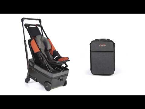 Born to Fly Baby: Carry-on flight bag & stroller all-in-one